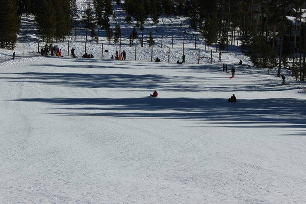 Sledding down this public hill in Breckenridge is a blast and FREE! Check out this list of 10 things to do in Breck!