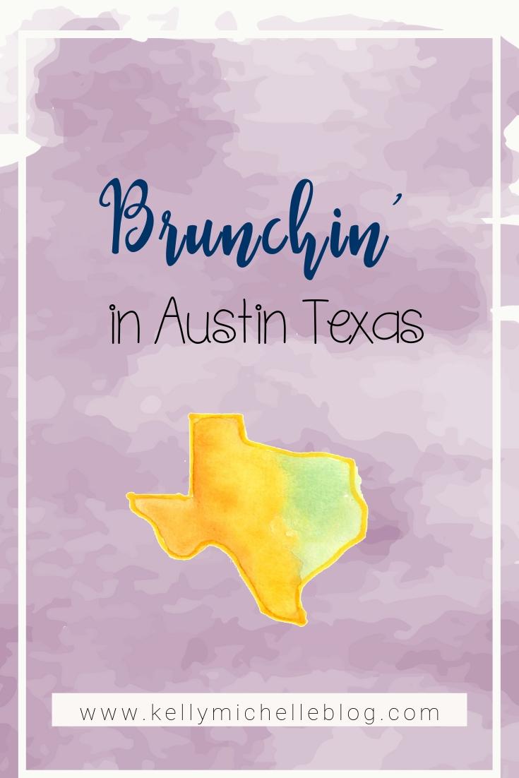 A great spot for weekend brunch in Austin Texas.