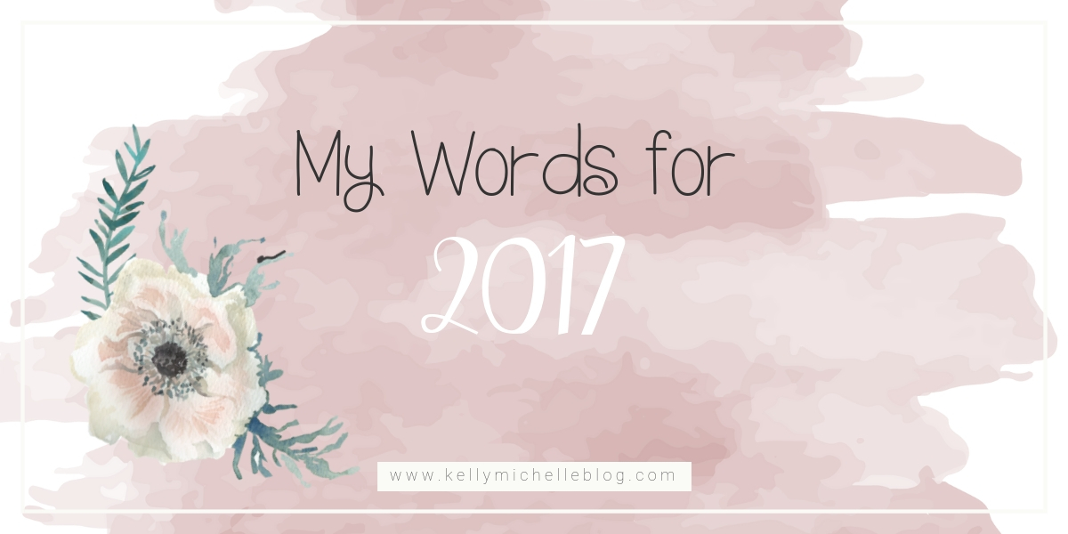 Words for 2017