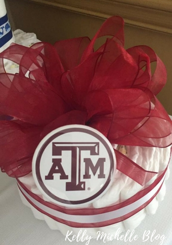Aggie Baby Shower decoration