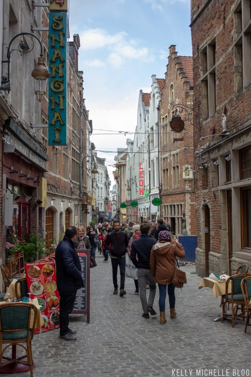 Self guided walking tour through Brussels