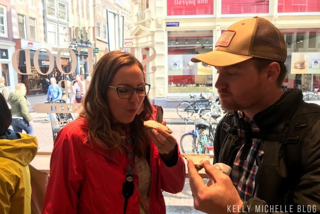 Walking tour Amsterdam.