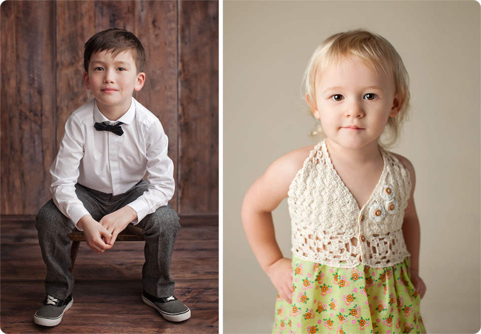 studio child portraits