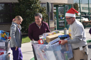 Toy Drive Delivery
