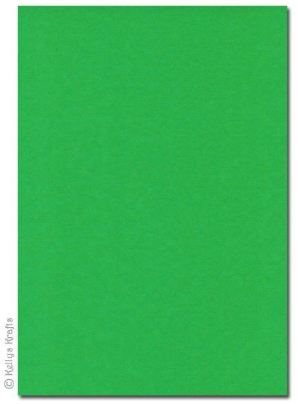 High Quality 270gsm A4 Card Spring Green  1 Sheet  049