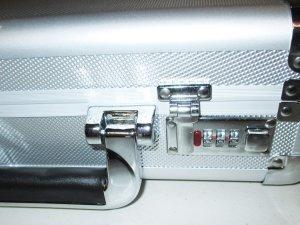 Locking Aluminum Pistol Case