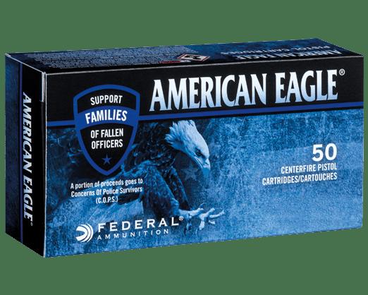American Eagle C.O.P.S. - 115 gr FMJ 9mm - 1000 Rnds