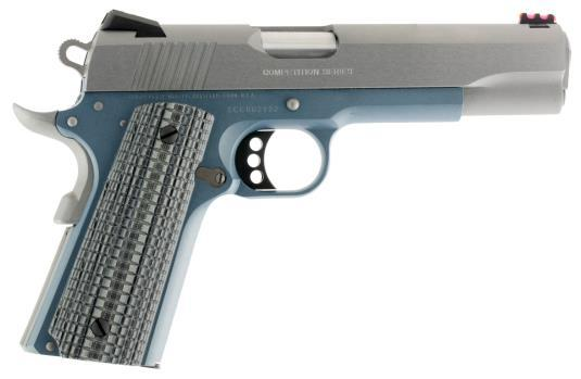 Colt Competition 1911 Series 70 - Blue Titanium Finished Frame