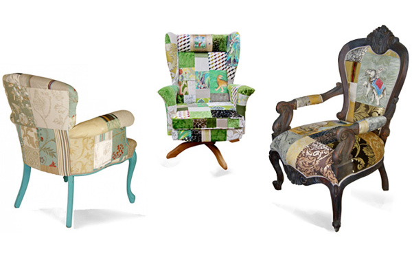 unusual armchair pedicure and manicure chairs kelly swallow custom sofas patchwork for sale