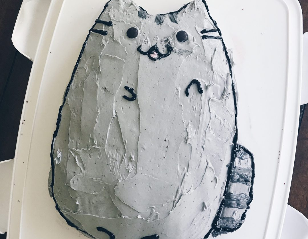 Pusheen Cake DIY