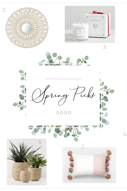 spring home decor inso