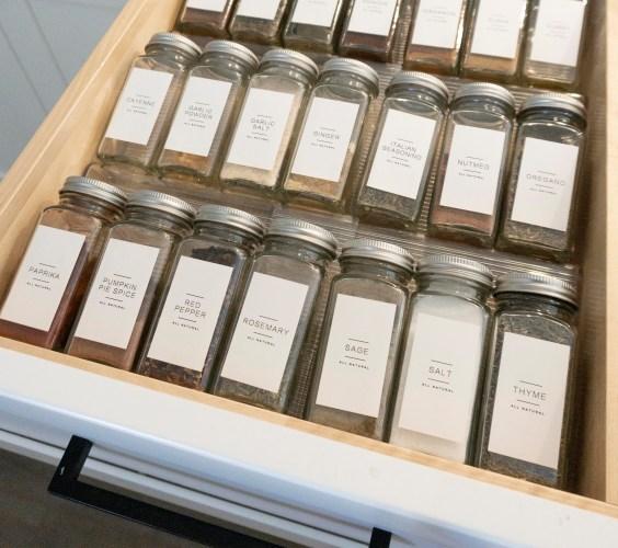 kitchen and pantry organization