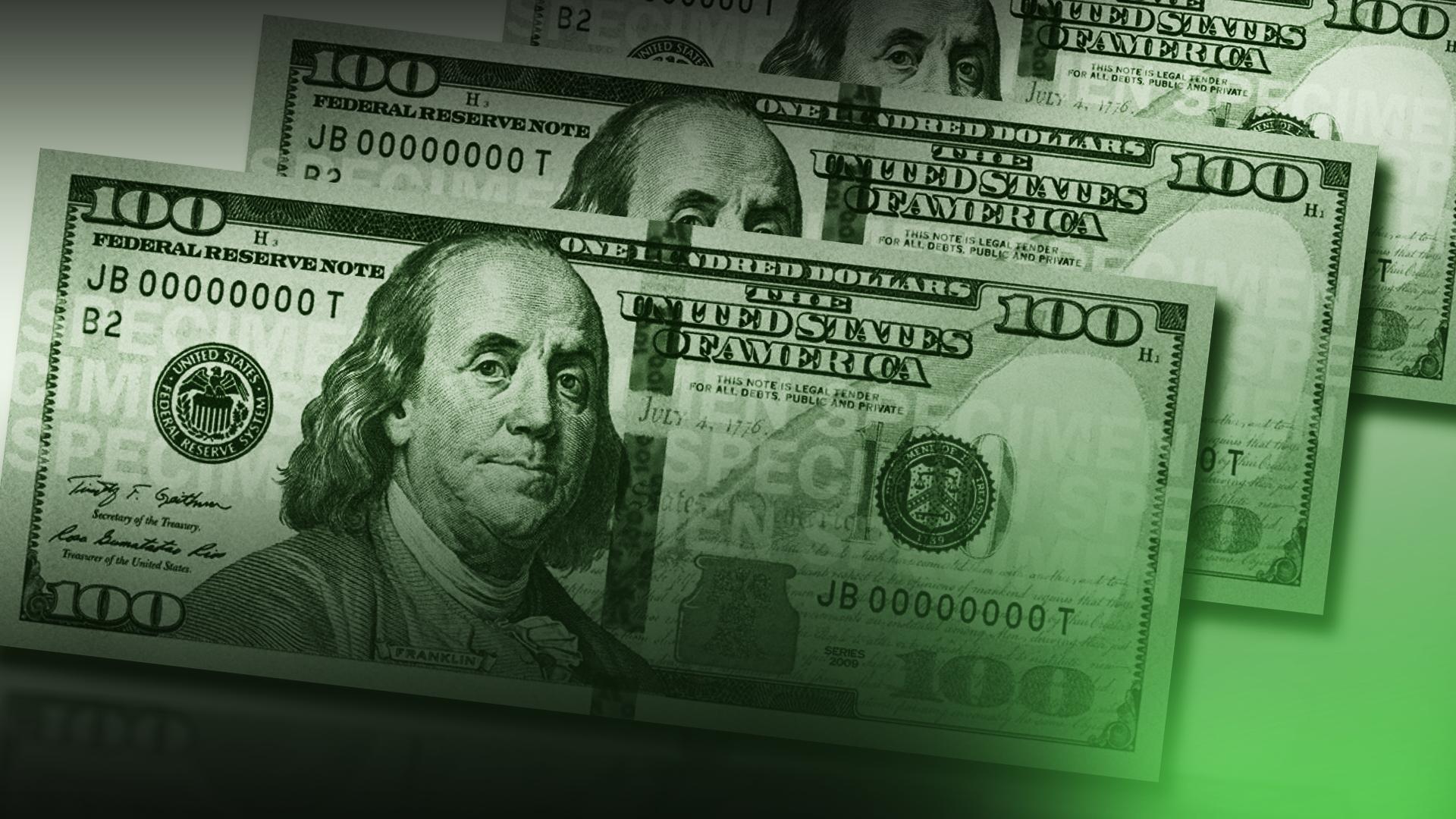 KELO money 100 dollar bills