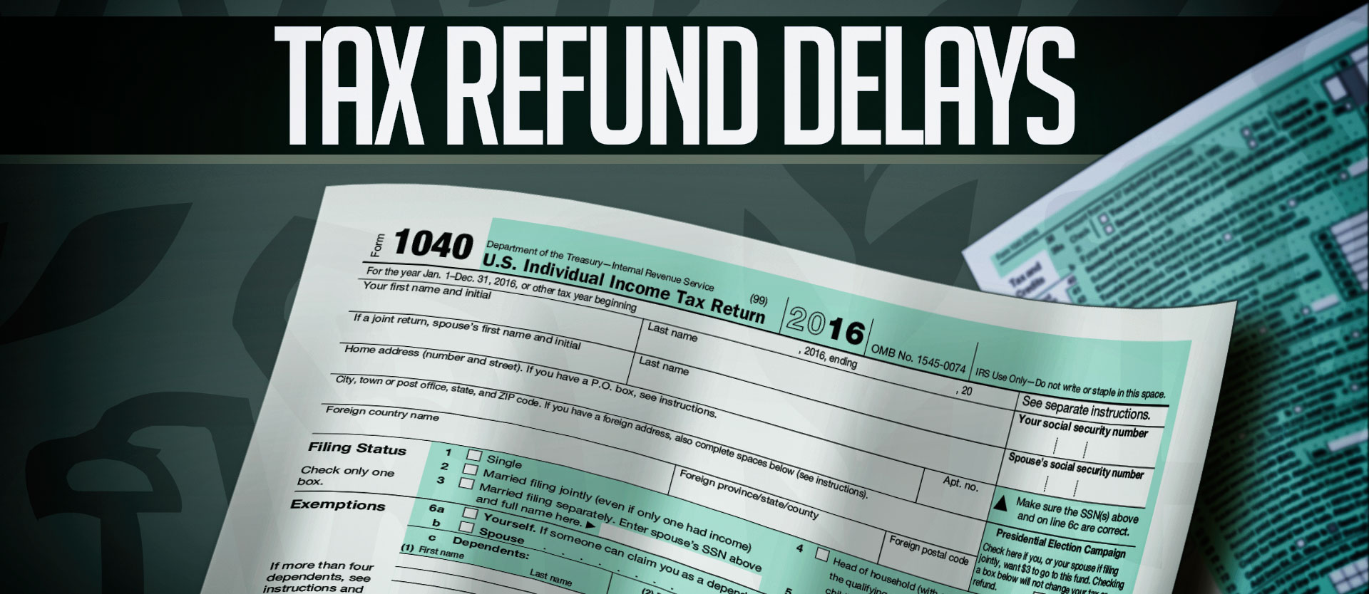 KELO Tax Refund Delays General Graphic