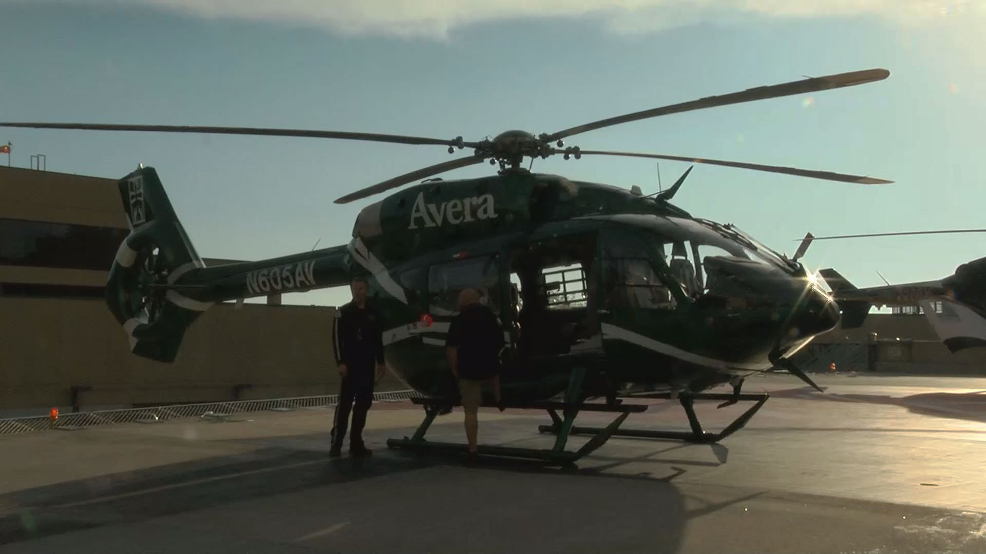 KELO Avera Helicopter