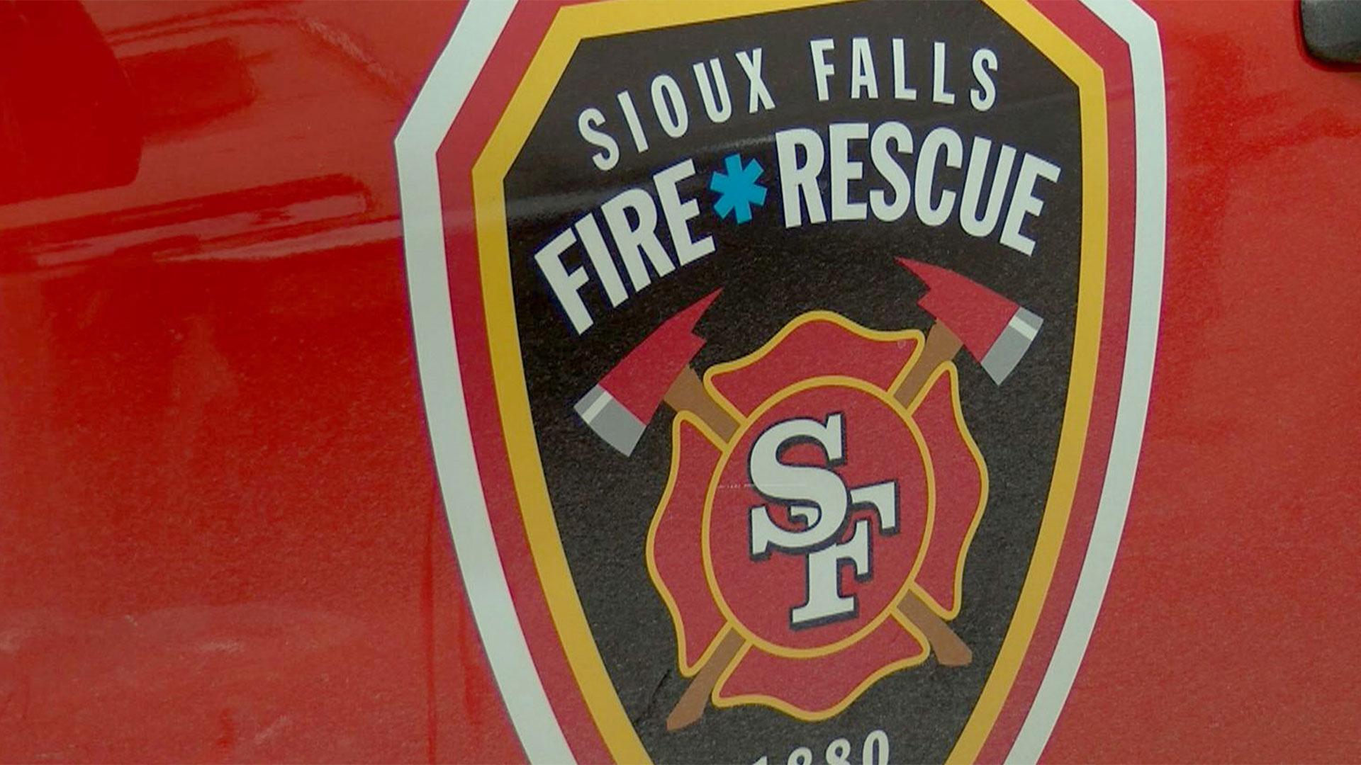 KELO Sioux Falls Fire Rescue truck SFFR