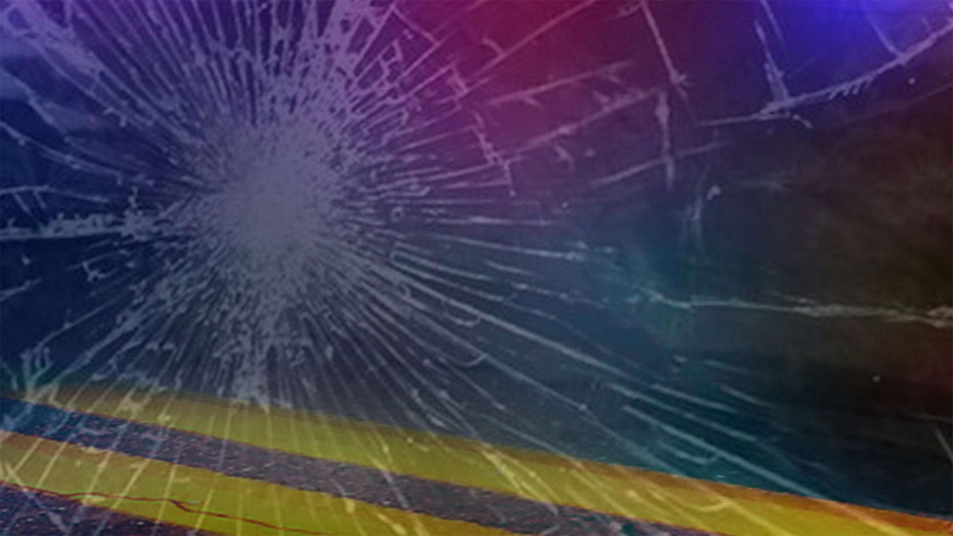 KELO Crash generic highway emergency lights