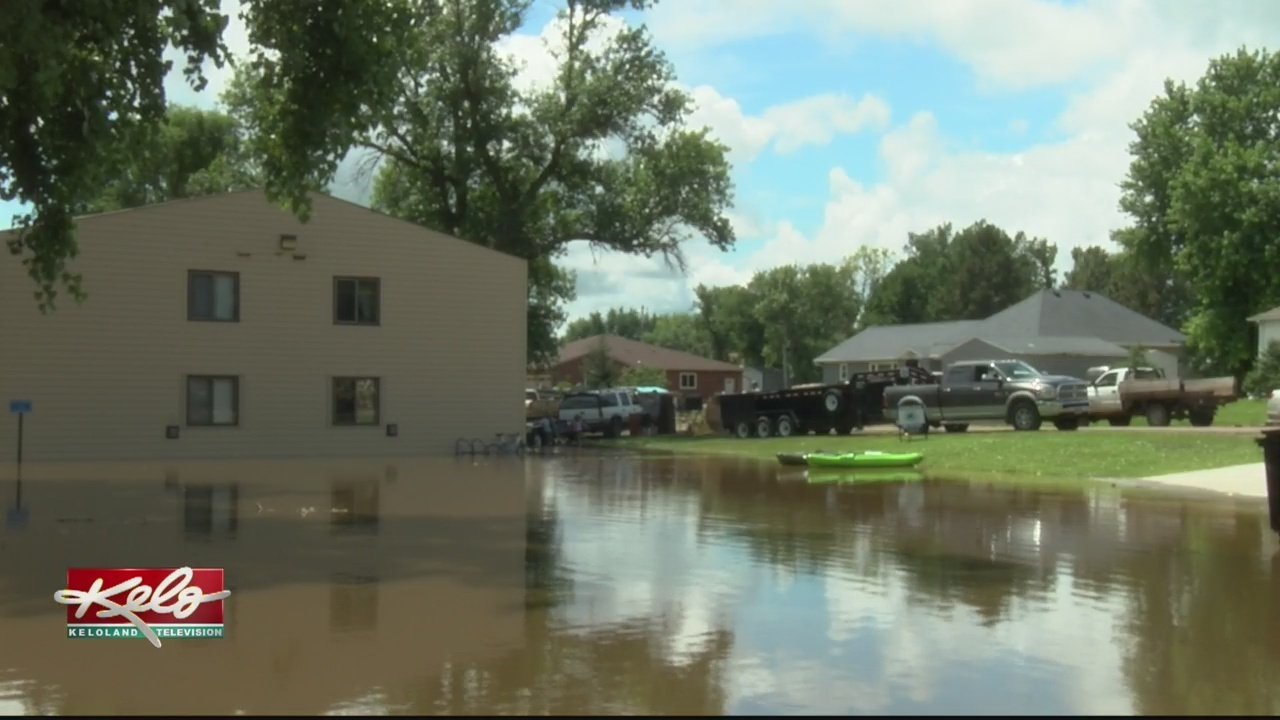 Heavy Rainfall Creates Problems In Armour And Parkston