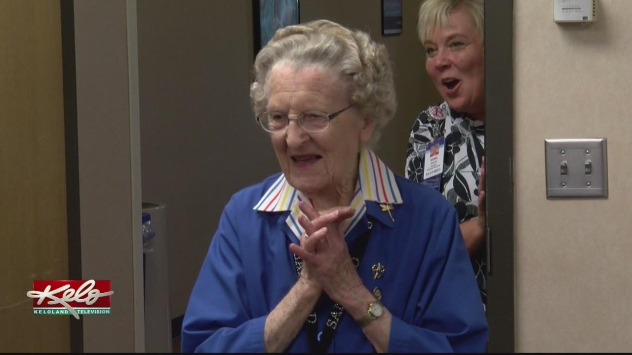 Sanford Volunteer Celebrates 103rd Birthday