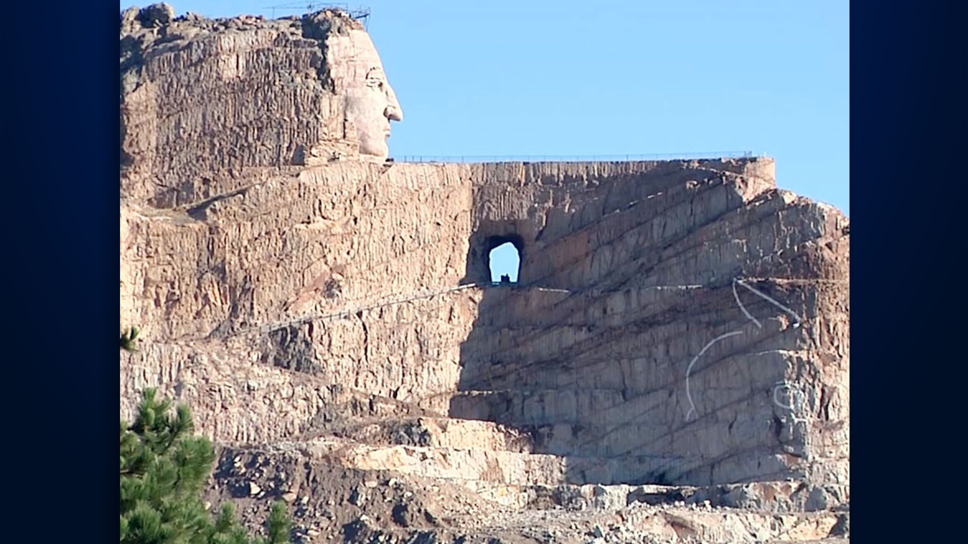 Ceremonial Blast Planned Thursday At Crazy Horse Memorial