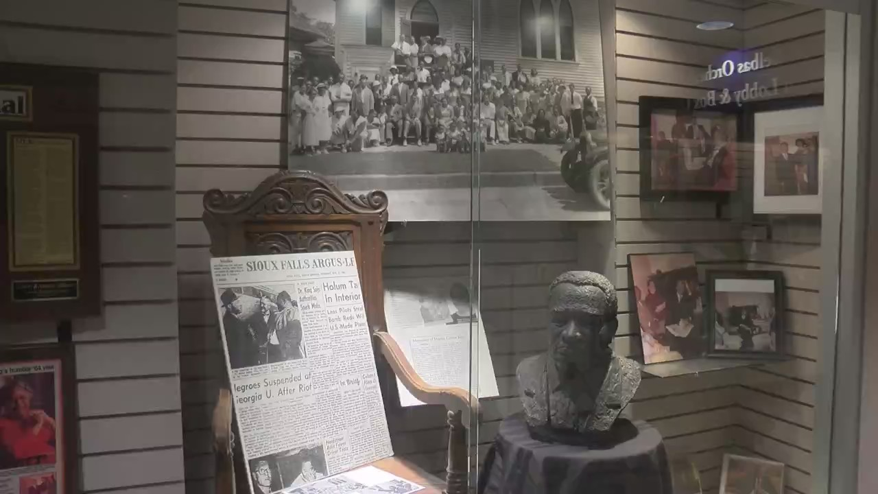 Inside The SD African American History Museum