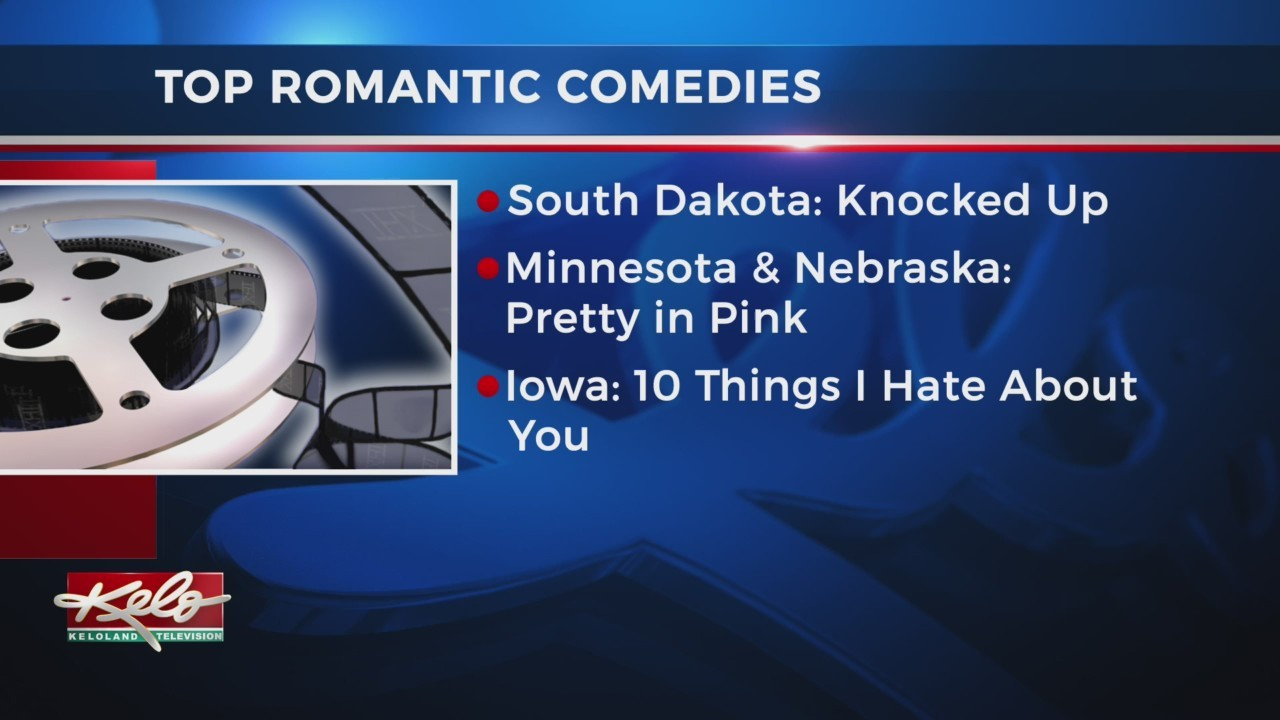 The Top Romantic Comedy In Each State
