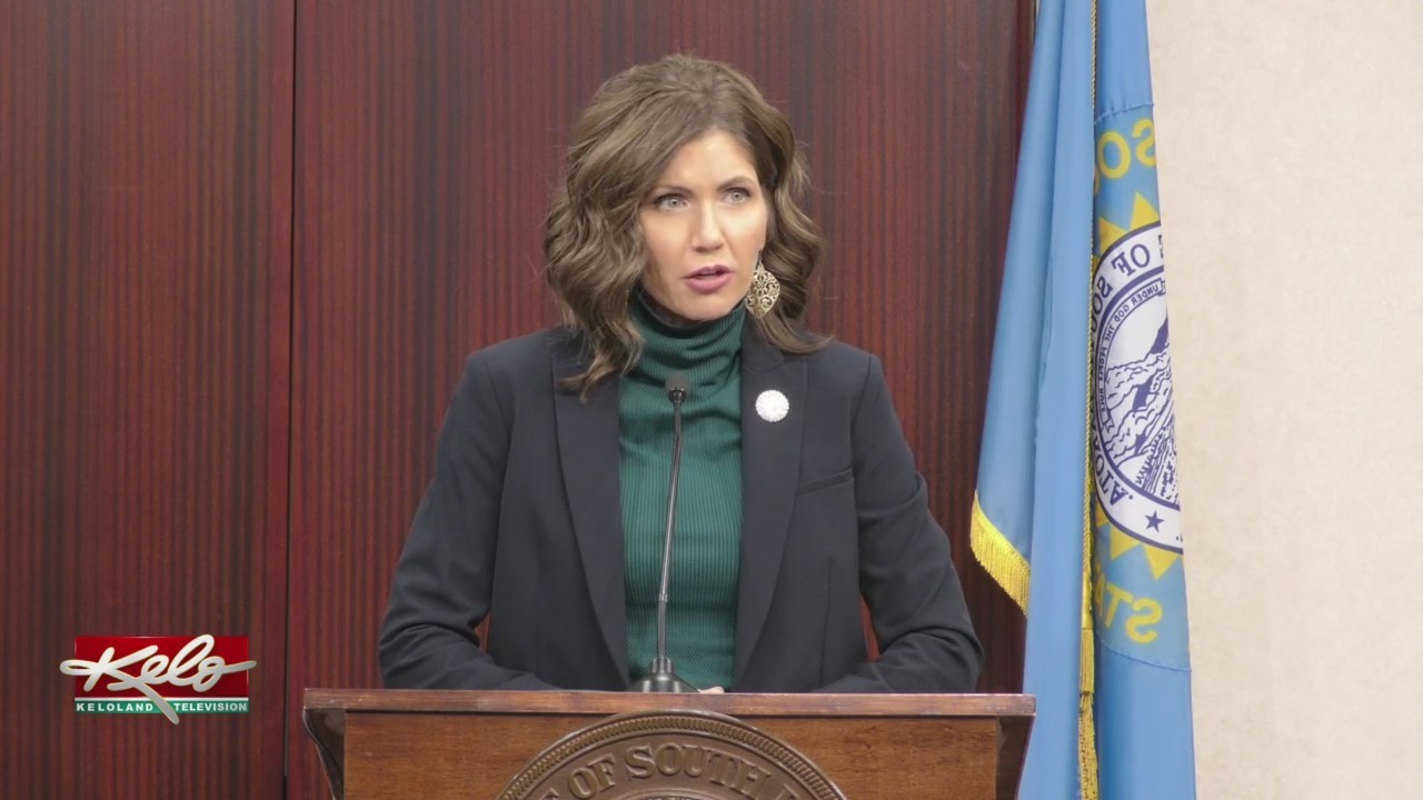 Noem Discusses New Keystone XL Legislation