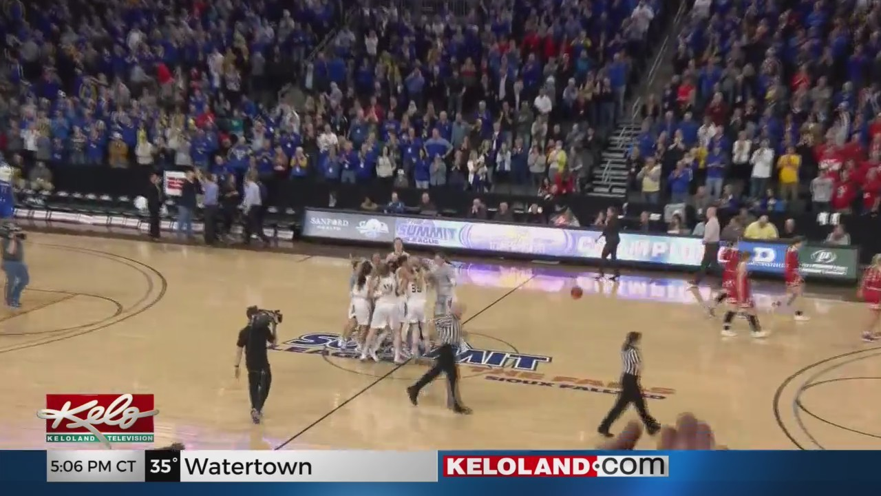 WBK: SDSU Wins Summit League Championship Game