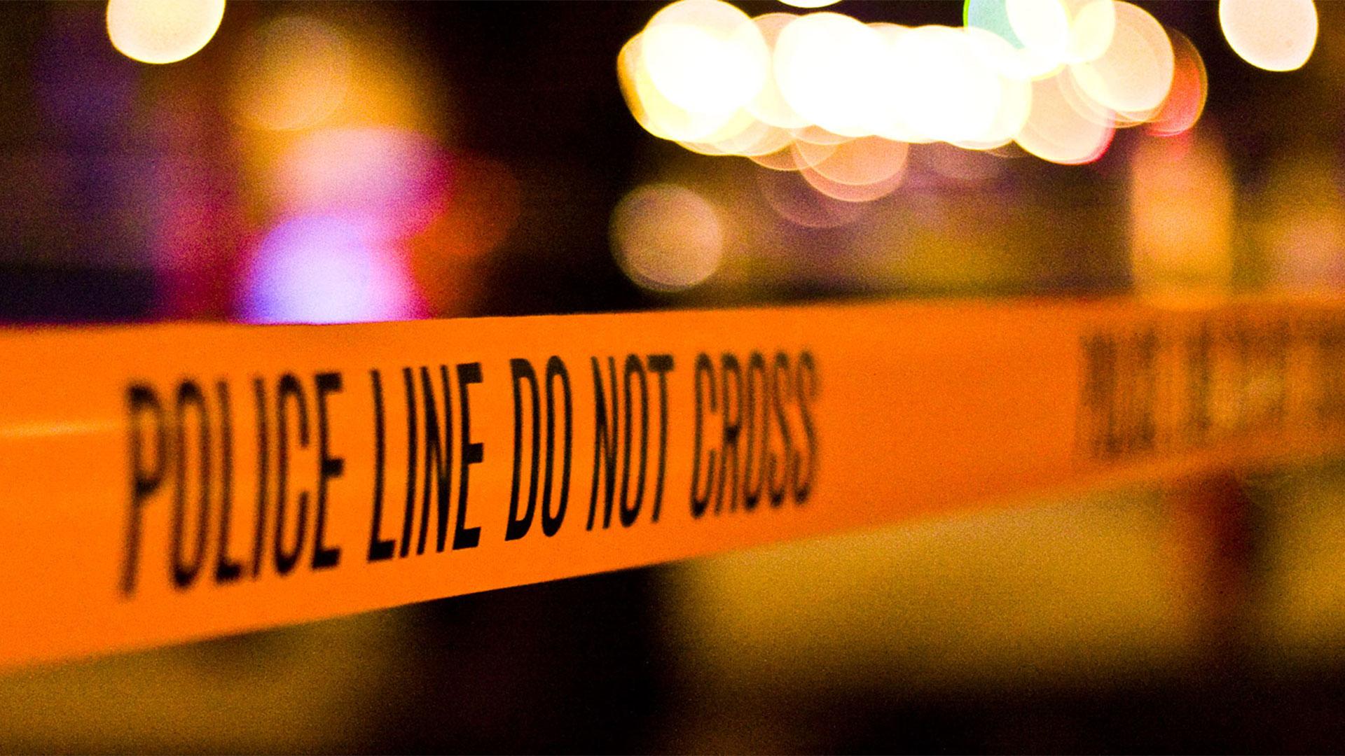 KELO police tape NIGHT lights