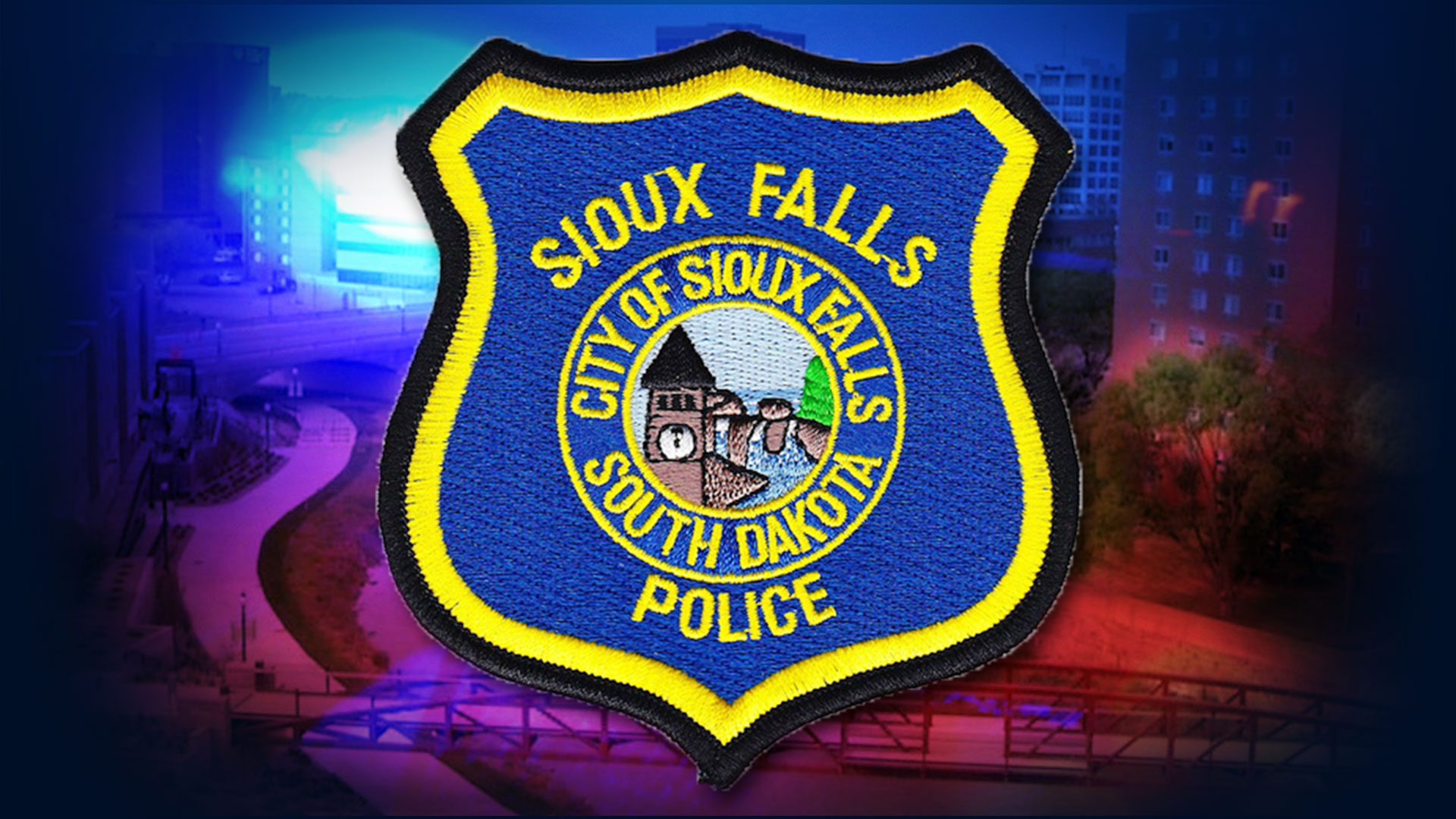 KELO Sioux Falls Police Patch