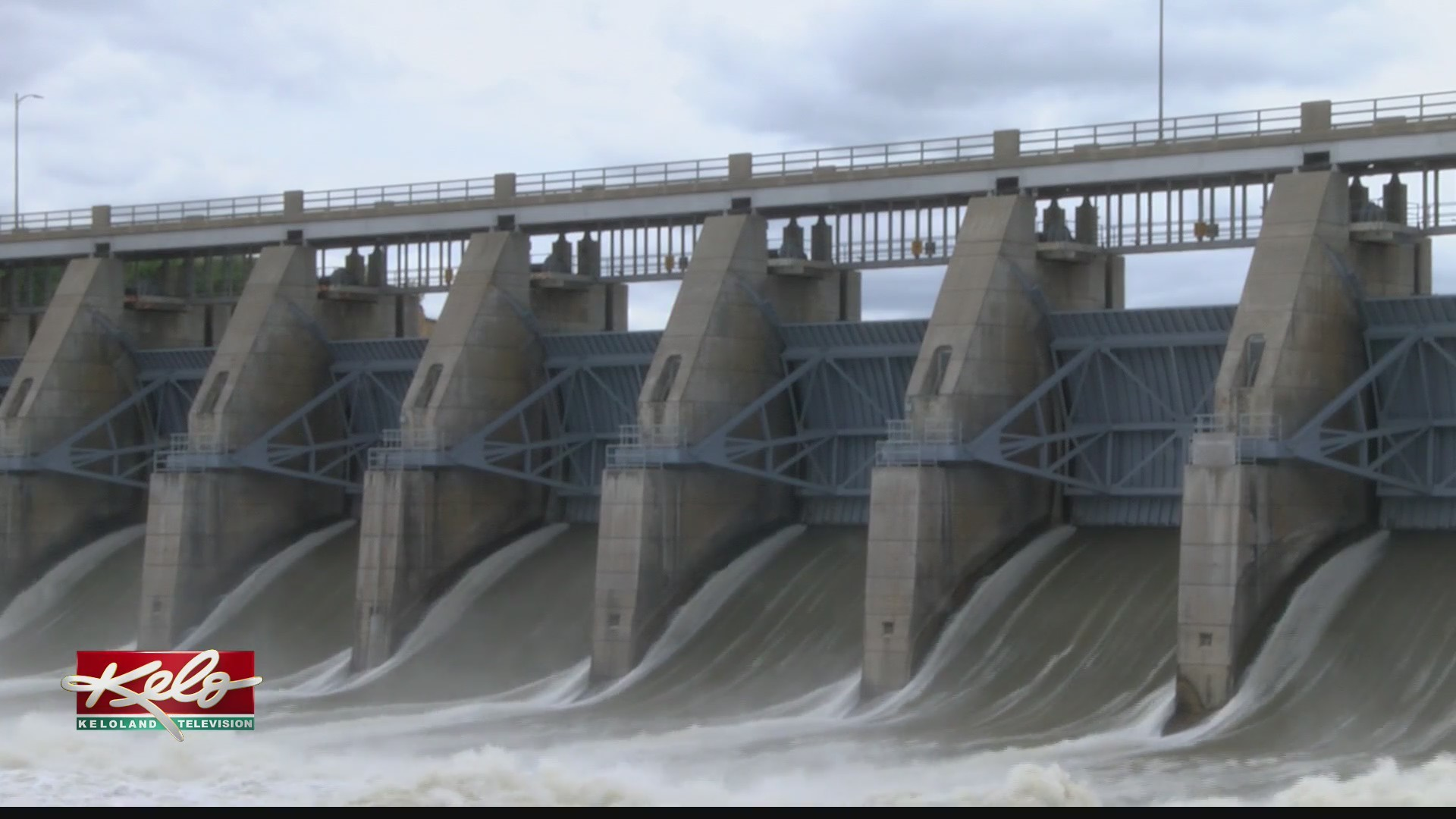 U.S. Army Corps of Engineers increases water flow at Gavin's Point Dam