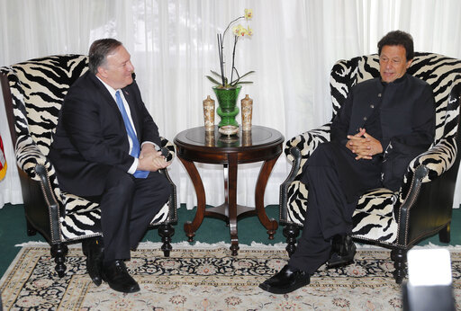 Mike Pompeo, Imran Khan