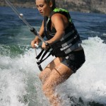 okanagan woman wakeboarding