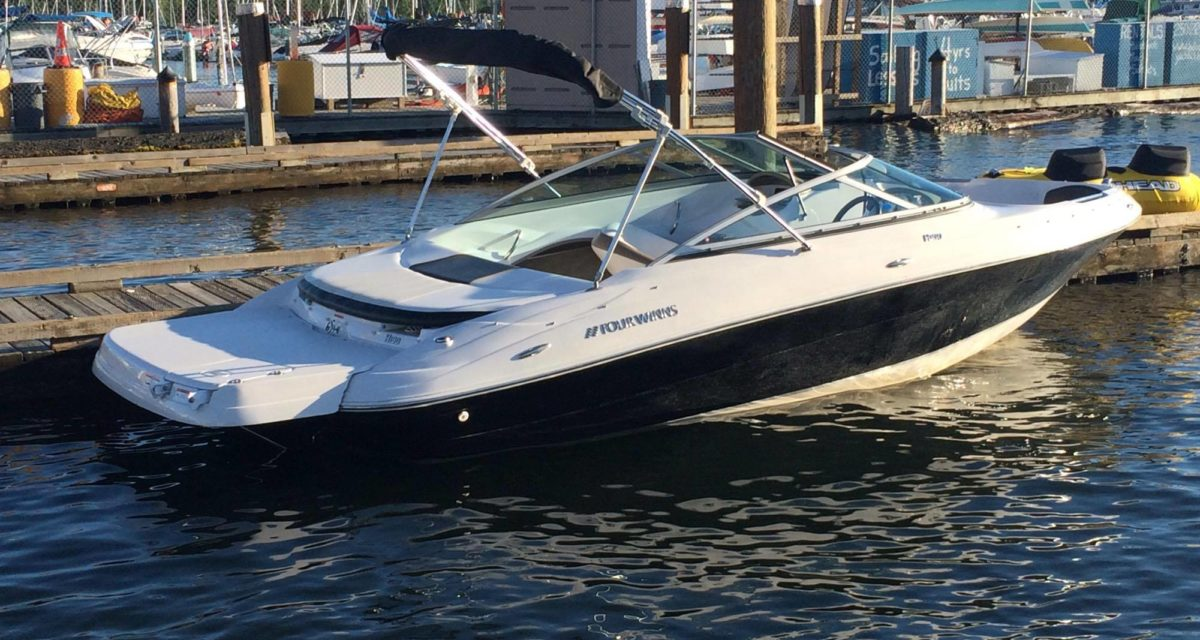 19′ Four Winns 2010 Boat Rental