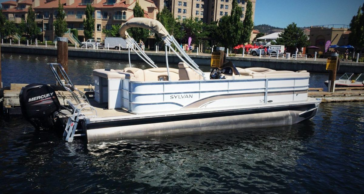 22′ Pontoon 2014 Boat Rental