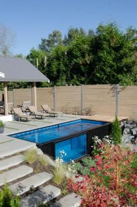 This B.C. couple turns shipping containers into backyard pools