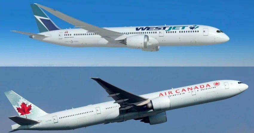 WestJet and Air Canada waiving cancellation fees due to ...