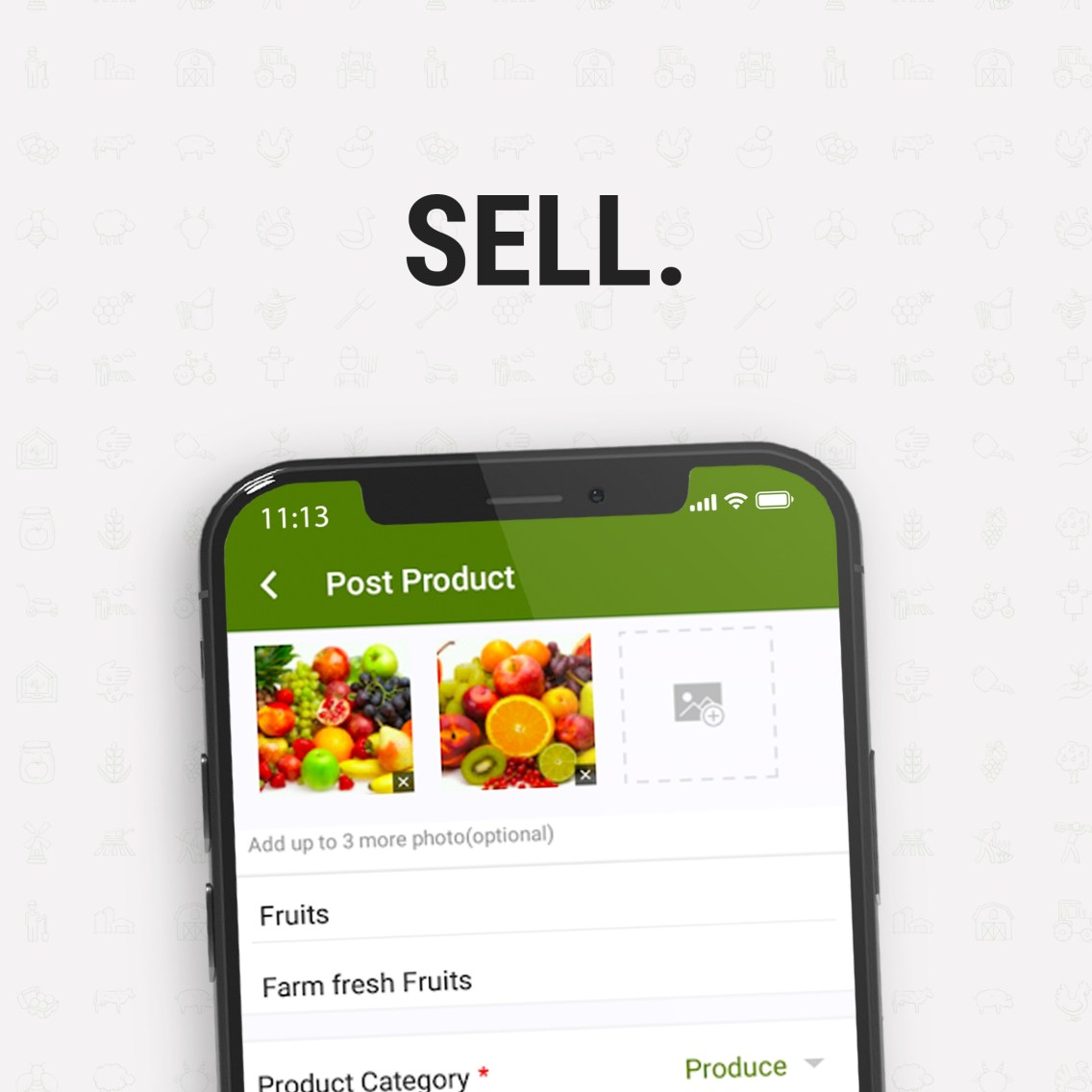 oogle app feature - sell