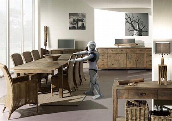 Le Robot Humanode Romo Petit Frre De NAO Au Service