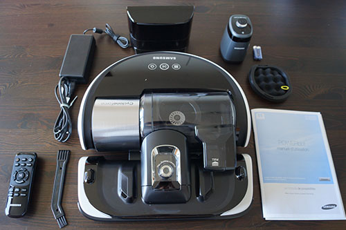 aspirateur robot samsung powerbot