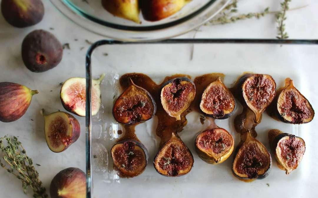 Balsamic Honey Roasted Figs