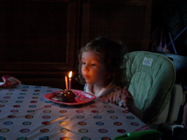 Happy Birthday - 2 Candles