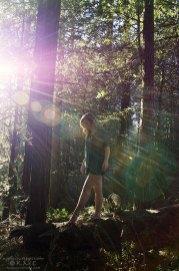 girl-dancer-forest-lensflare-kmcnickle