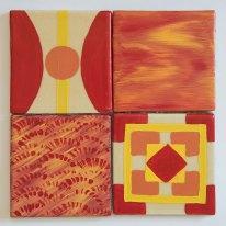 Red Tile set