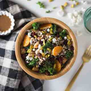 Beet & Goat Cheese Grain Bowl