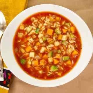 Rustic Fall Vegetable Soup