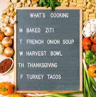 What's Cooking 11/20 – 11/24