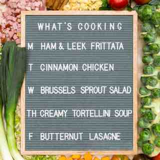 What's Cooking 11/06 – 11/10