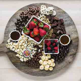 Brownie Sundae Board