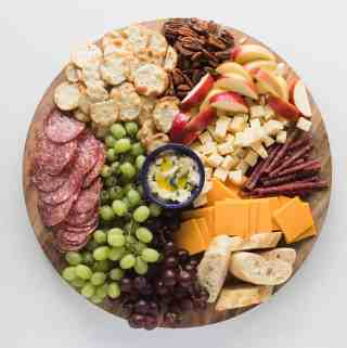 Trader Joe's Snack Board Supper